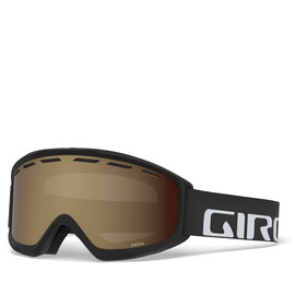 Giro Index Gafas, black/amber rose